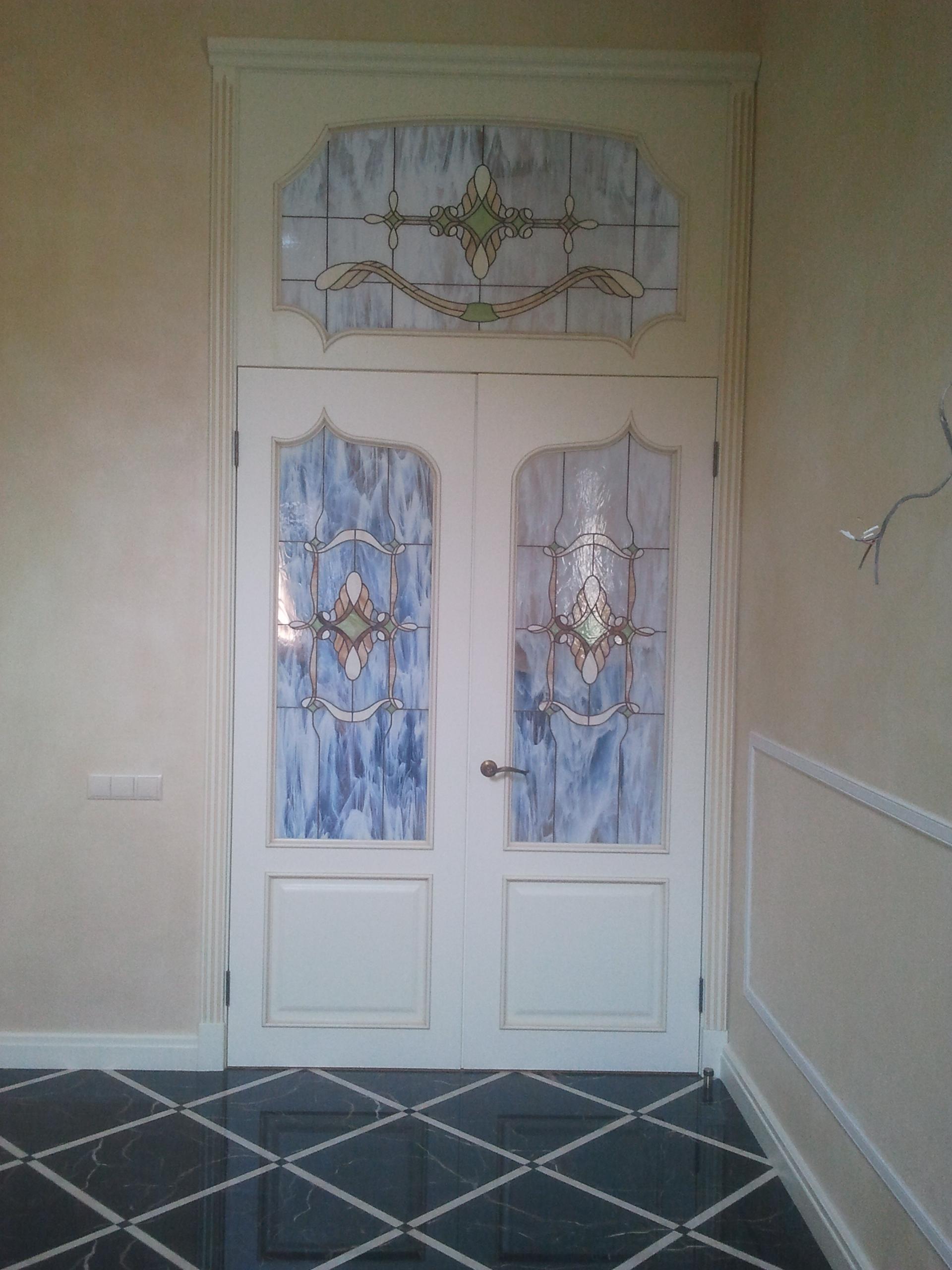 Двери с витражами - фото 13