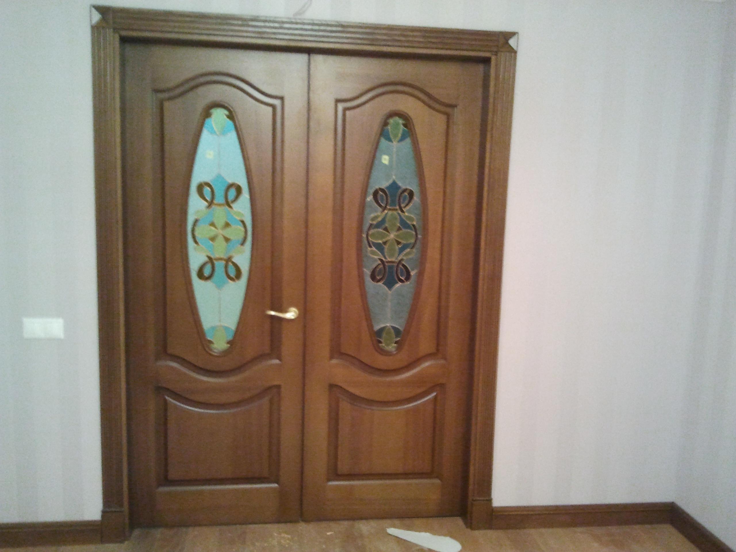 Двери  массив древесины - фото 13