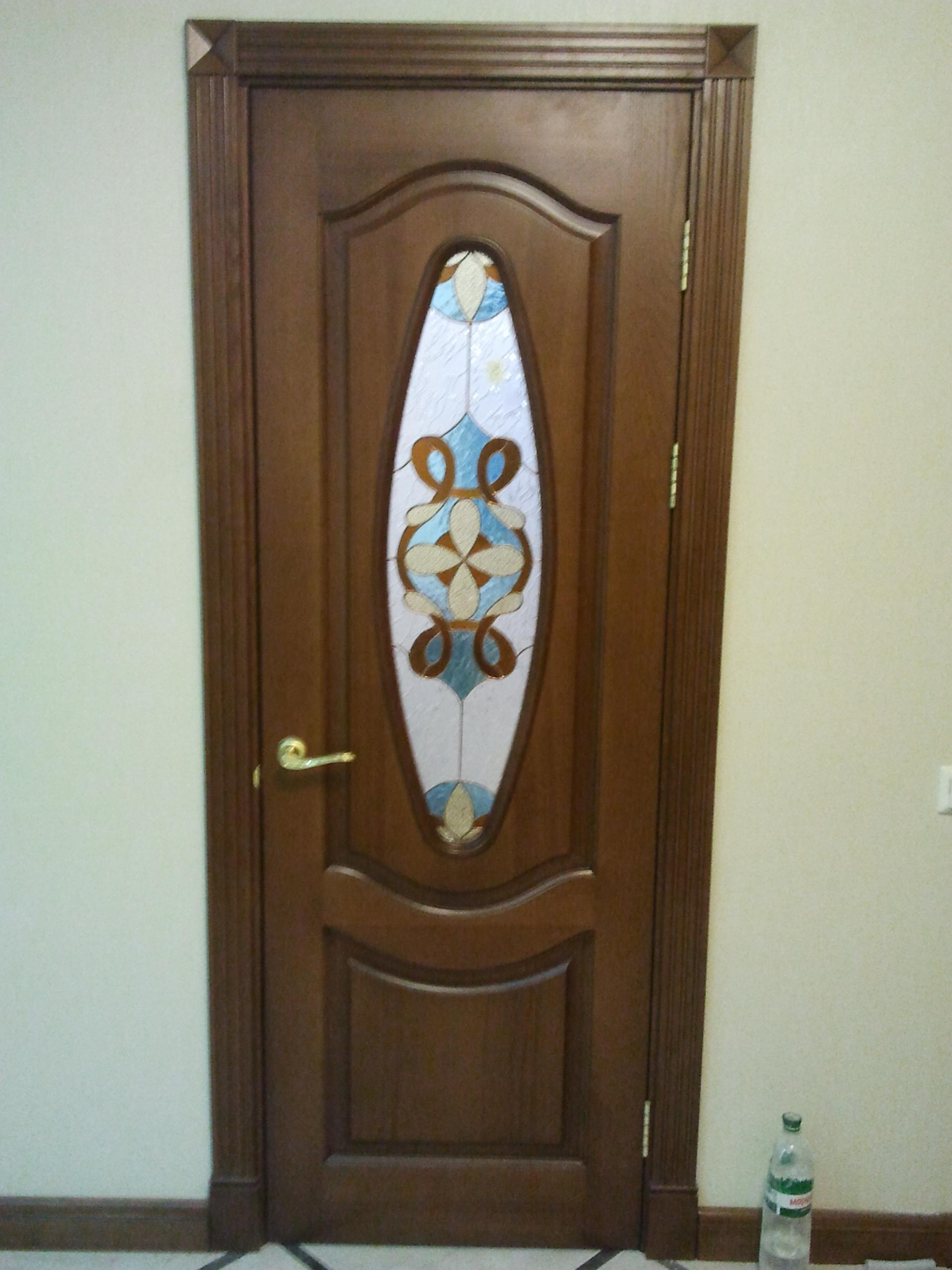 Двери с витражами - фото 15