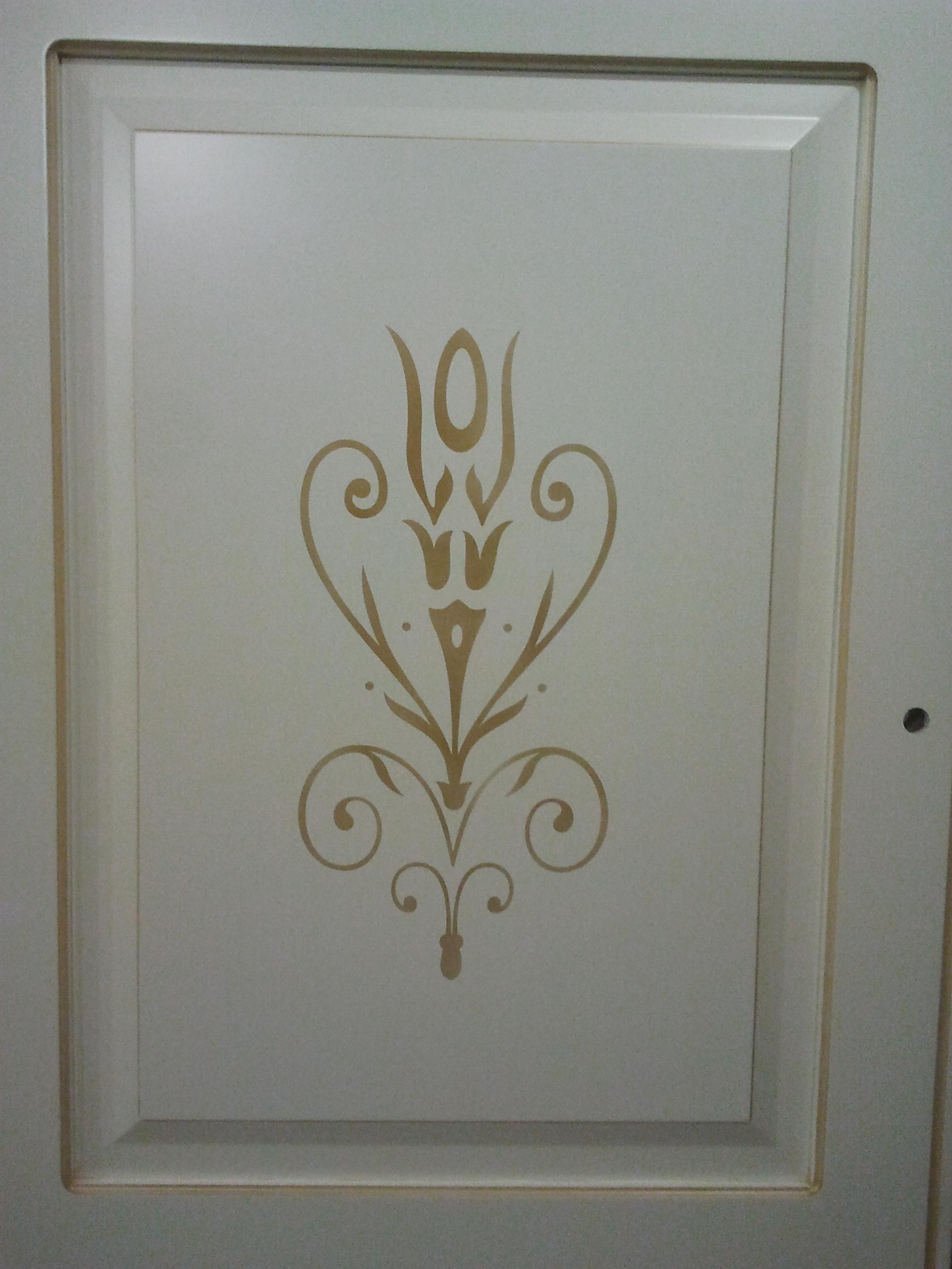 Двері з елементами різьблення - фото 33