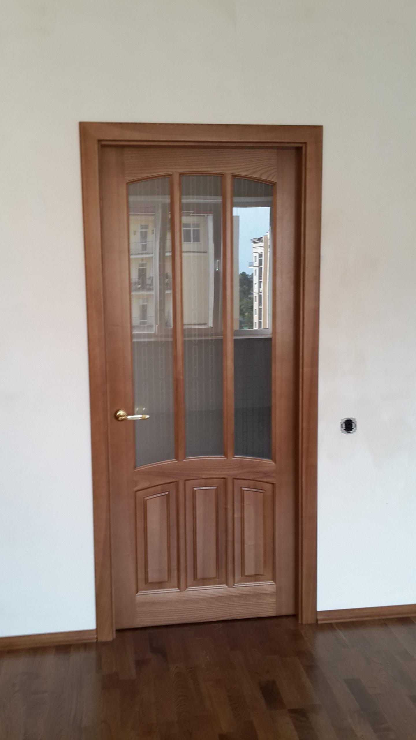 Двери  массив древесины - фото 26