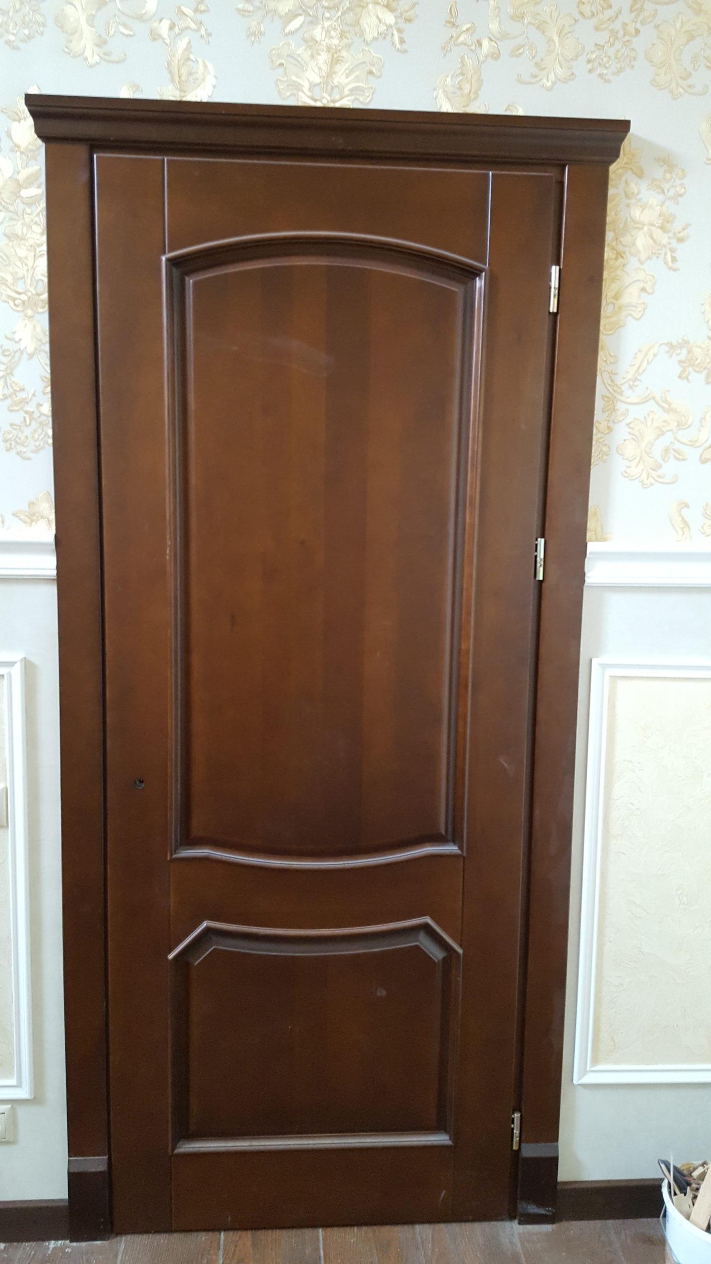 Двери  массив древесины - фото 28