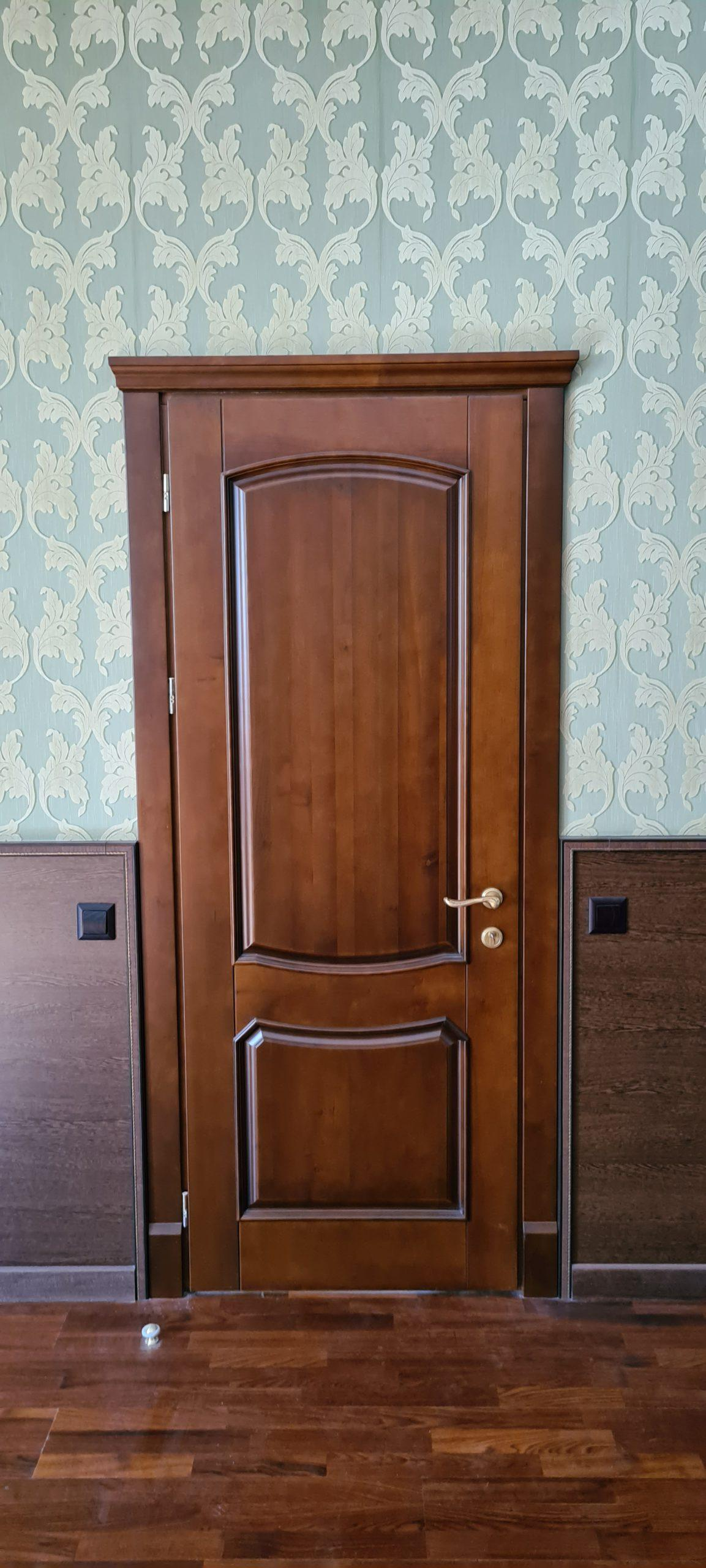 Двери  массив древесины - фото 34