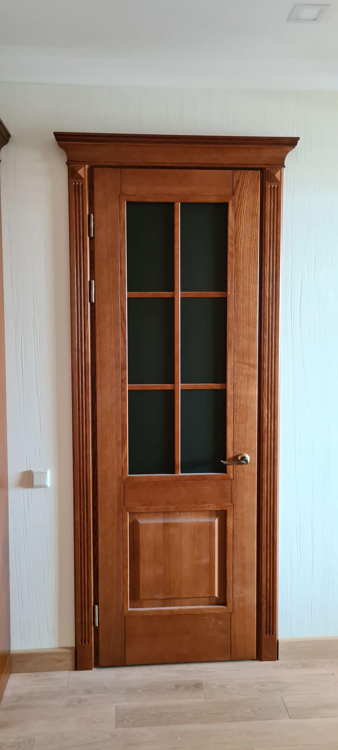 Двери  массив древесины - фото 35