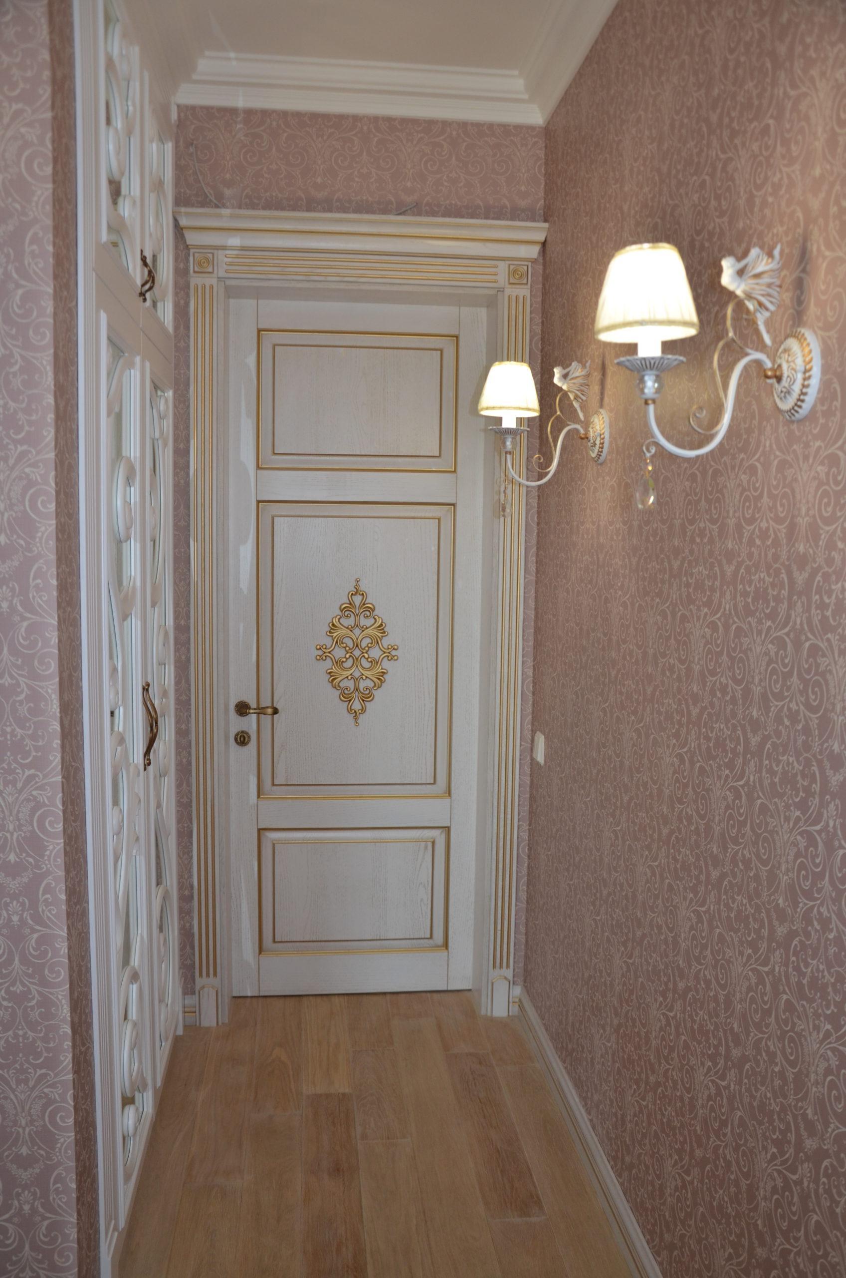 Двері з елементами різьблення - фото 25