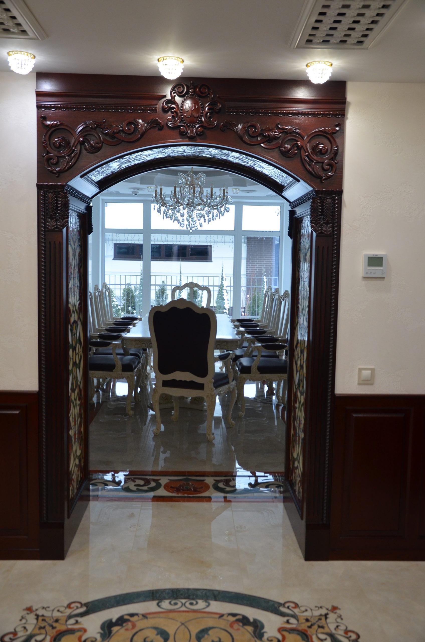 Двери с витражами - фото 7