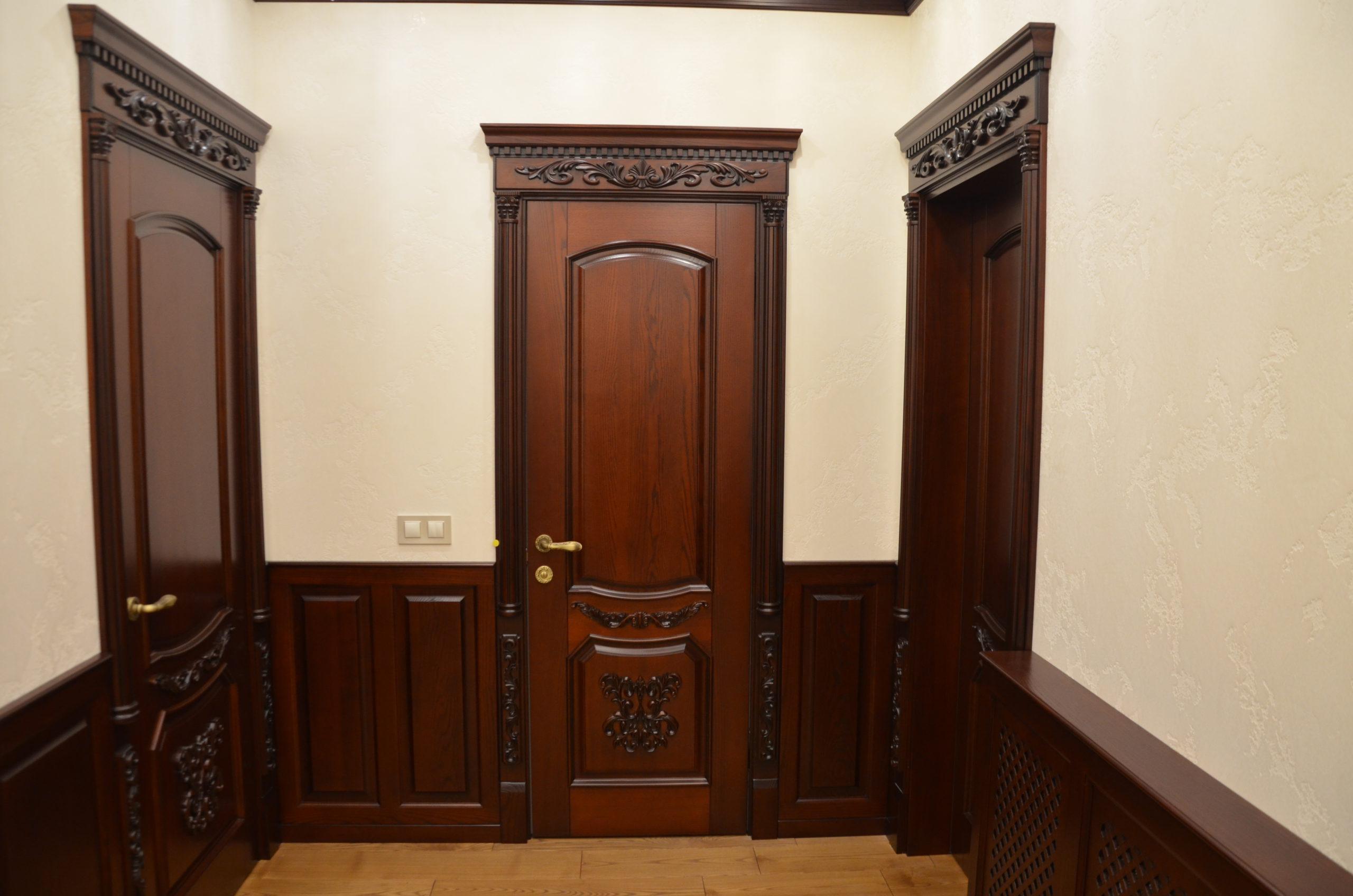 Двери  массив древесины - фото 44