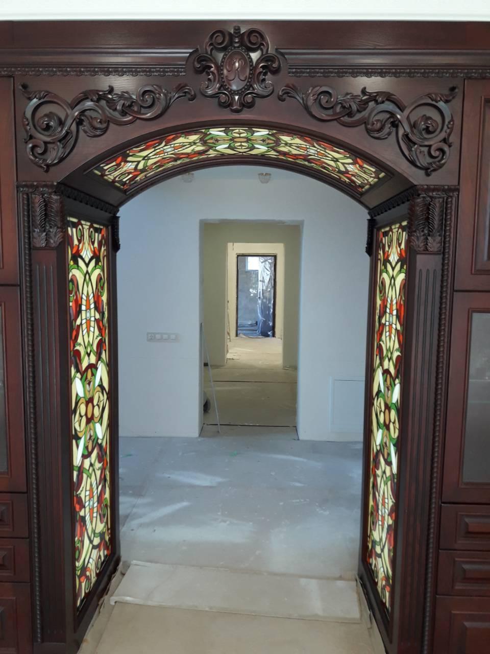 Двери с витражами - фото 5