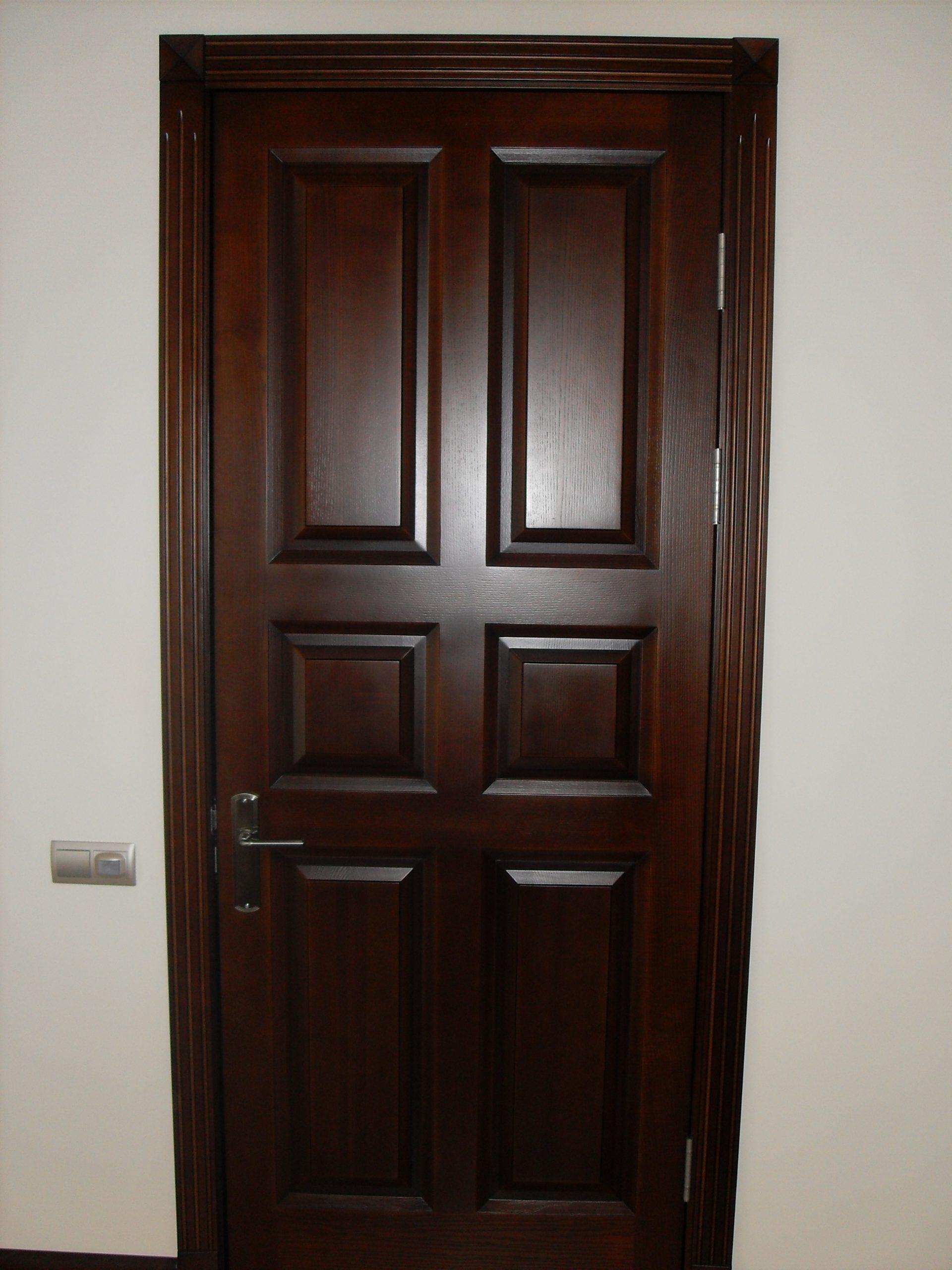Двери  массив древесины - фото 2